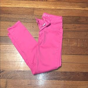 Pink AEO jeans